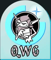 Quined White Goblin Games Logo
