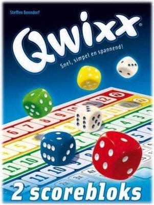 Qwixx - Blocks scoreblock Dobbelspel Uitbreiding