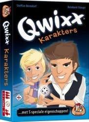 Qwixx - Karakters Dobbelspel Uitbreiding