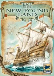Race to the New Found Land spel doos box Spellenbunker.nl