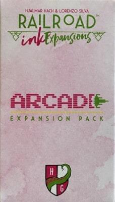 Railroad Ink: Arcade Expansion Pack spel doos box Spellenbunker.nl