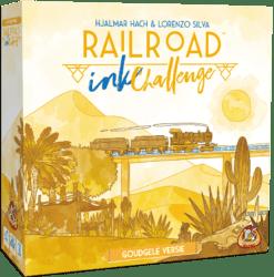 Railroad Ink Challenge- Goudgele Versie White Goblin Games