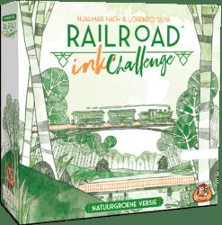 Railroad Ink Challenge- Natuurgroene Versie White Goblin Games