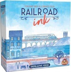 Railroad Ink - Diepblauwe Versie Bordspel