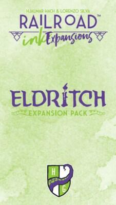 Railroad Ink: Eldritch Expansion Pack spel doos box Spellenbunker.nl