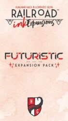 Railroad Ink: Futuristic Expansion Pack spel doos box Spellenbunker.nl