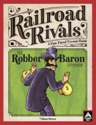 Railroad Rivals: Robber Baron Expansion spel doos box Spellenbunker.nl