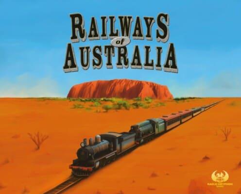 Railways of Australia spel doos box Spellenbunker.nl
