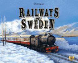 Railways of Sweden spel doos box Spellenbunker.nl