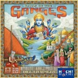 Rajas of the Ganges: The Dice Charmers spel doos box Spellenbunker.nl