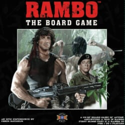 Rambo: The Board Game spel doos box Spellenbunker.nl