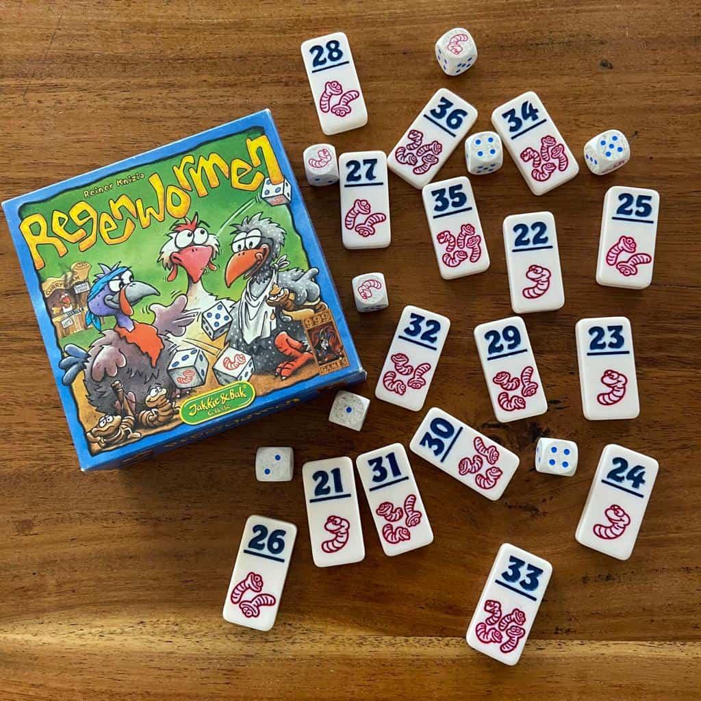 Regenwormen Dobbelspel - 999 Games