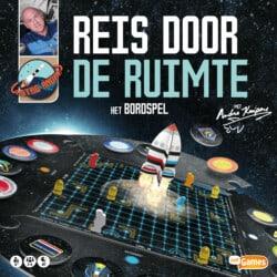 Reis door de ruimte met Andre Kuipers: Het bordspel spel doos box Spellenbunker.nl
