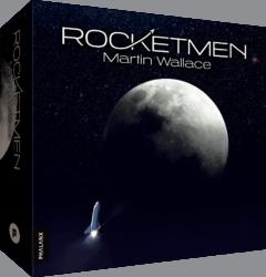 Rocketmen - Boardgame - Cardgame - Deckbuilder - Phalanx Games