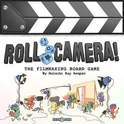 Roll Camera!: The Filmmaking Board Game spel doos box Spellenbunker.nl