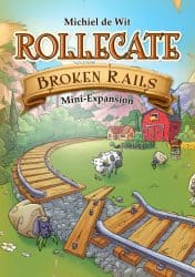 Rollecate - Broken Rails Bordspel Uitbreiding