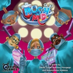 Rush M.D. spel doos box Spellenbunker.nl