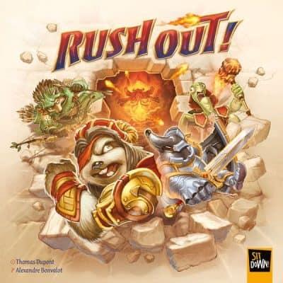 Rush Out! Bordspel Sit Down GAmes
