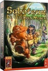Saboteur - De Verloren Mijnen Bordspel