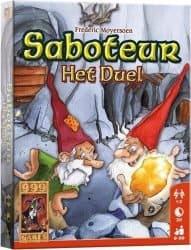 Saboteur - Het Duel Kaartspel