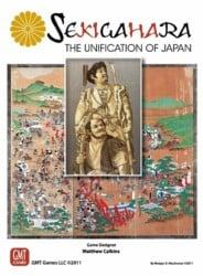 Sekigahara: The Unification of Japan spel doos box Spellenbunker.nl