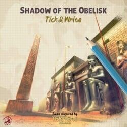 Shadow of the Obelisk spel doos box Spellenbunker.nl
