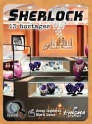 Sherlock - 13 Hostages Kaartspel GDM Games