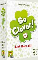 So Clover! spel doos box Spellenbunker.nl