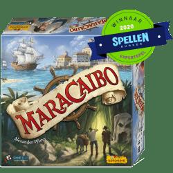 Maracaibo Geronimo Games Bordspel Spellenbunker Expertspel van het jaar 2020