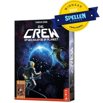 De Crew 999 Games Kaartspel Spellenbunker Familiespel van het jaar 2020