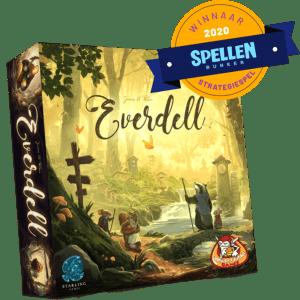 Everdell White Goblin Games Bordspel Spellenbunker Strategiespel van het Jaar 2020