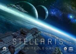 Stellaris: Infinite Legacy spel doos box Spellenbunker.nl