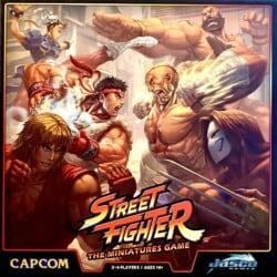 Street Fighter: The Miniatures Game spel doos box Spellenbunker.nl