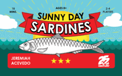 Sunny Day Sardines spel doos box Spellenbunker.nl