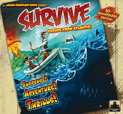 Survive: Escape from Atlantis! spel doos box Spellenbunker.nl