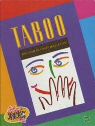 Taboo spel doos box Spellenbunker.nl