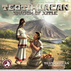 Teotihuacan: Shadow of Xitle spel doos box Spellenbunker.nl