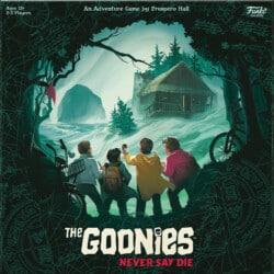 The Goonies: Never Say Die spel doos box Spellenbunker.nl