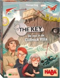 The Key - De roof in de Cliffrock Villa HABA Spel
