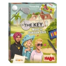The Key - Moord in Oakdale Club HABA Spel