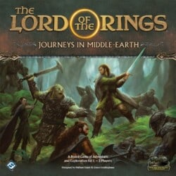 The Lord of the Rings: Journeys in Middle-Earth spel doos box Spellenbunker.nl