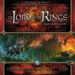 The Lord of the Rings: The Card Game spel doos box Spellenbunker.nl