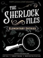 The Sherlock Files: Elementary Entries spel doos box Spellenbunker.nl