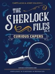 The Sherlock Files: Vol II – Curious Capers spel doos box Spellenbunker.nl