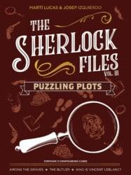 The Sherlock Files: Vol III – Puzzling Plots spel doos box Spellenbunker.nl