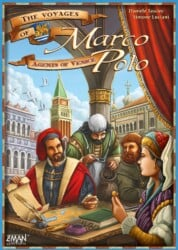 The Voyages of Marco Polo: Agents of Venice spel doos box Spellenbunker.nl