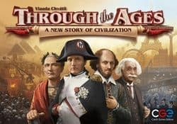 Through the Ages - A New Story of Civilization Bordspel