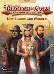 Through the Ages: New Leaders and Wonders spel doos box Spellenbunker.nl