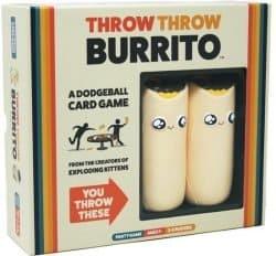 Throw Throw Burrito Spel Partygame