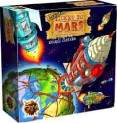 Ticket To Mars Intrafin Games GDM Games Bordspel